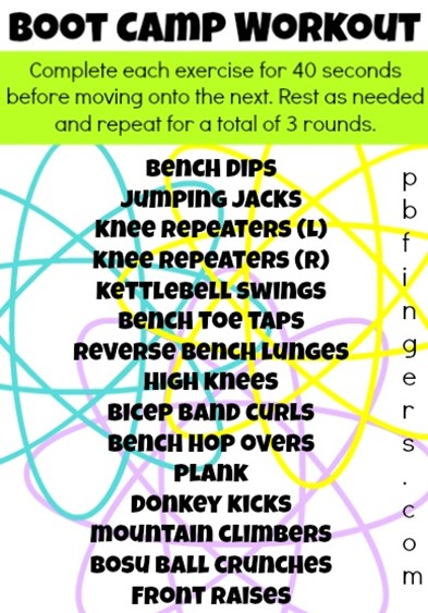 Fast-Paced Boot Camp Workout