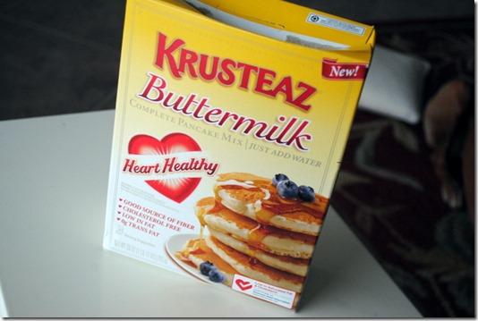 Krusteaz Heart Healthy Pancake Mix