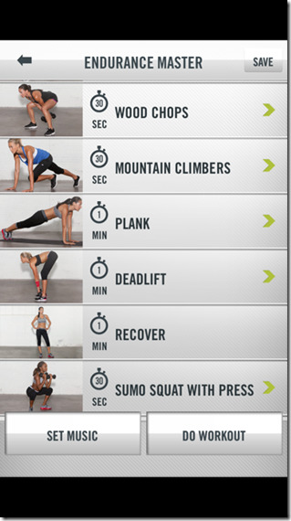 Nike Training Club Get Strong Workout