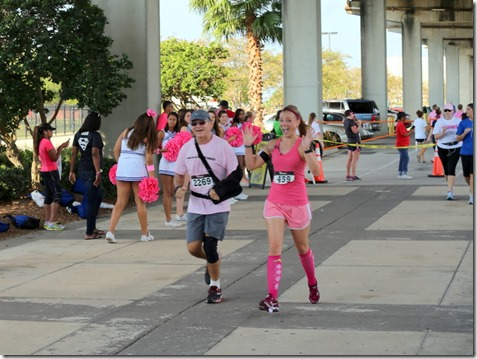 father daughter race for the cure