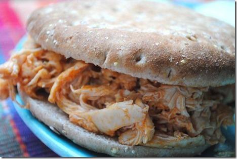 Easy Buffalo Chicken Sandwich