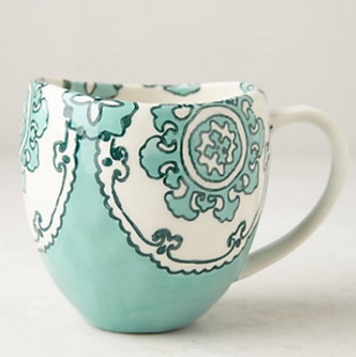 Anthropologie mug