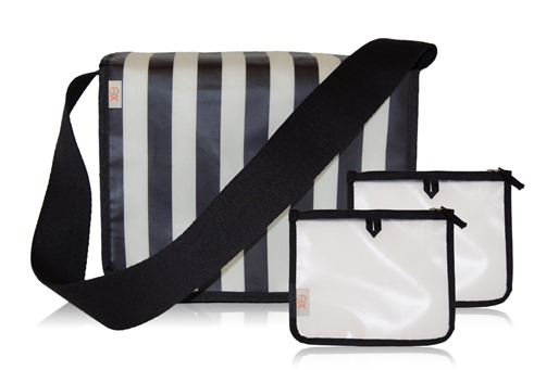 Black and White Lunch Tote