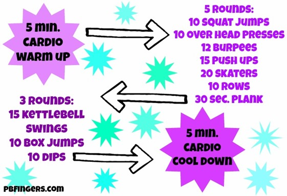 Fight Boredom Workout