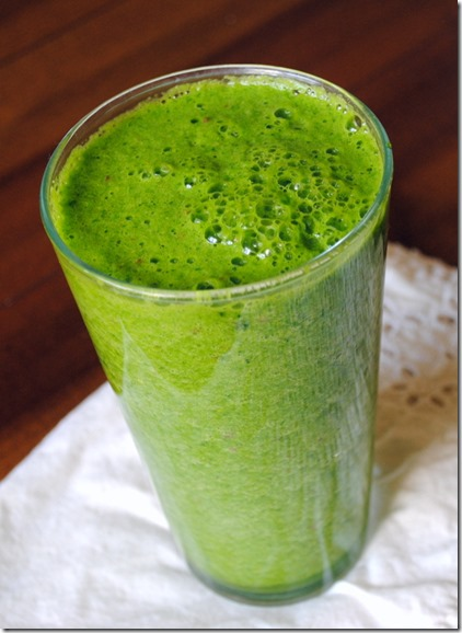 Green Smoothie - No Juicer Required