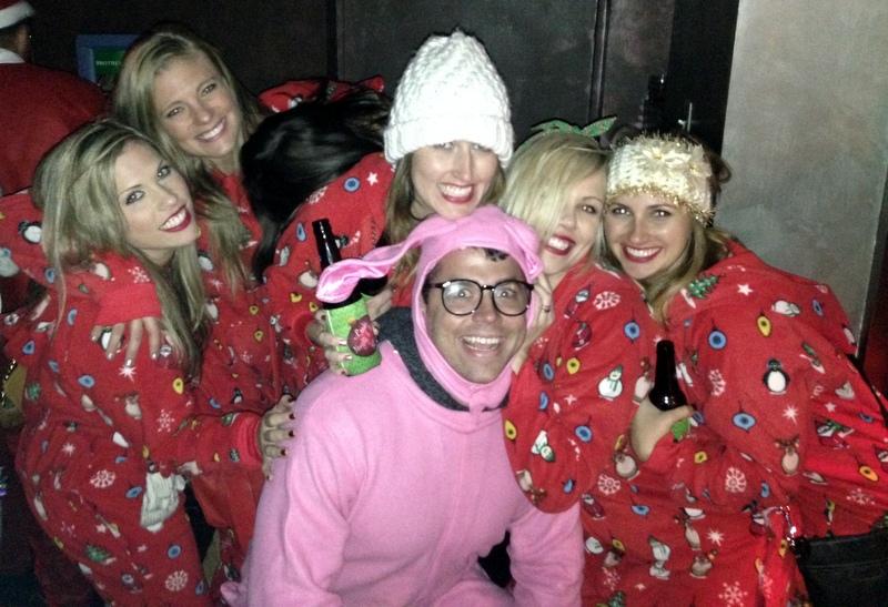 Ralphie Pink Bunny Costume