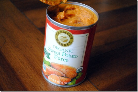 Pureed Sweet potato