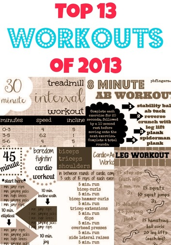 Top 13 Workouts of 2013
