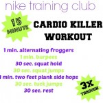15 Minute Cardio Killer Workout