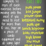 50 Rep Workout - Part Two