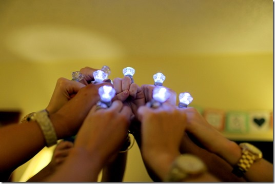 Bachelorette PArty Rings