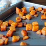 Simple Cinnamon Roasted Butternut Squash