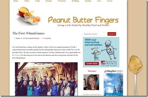 Peanut Butter Fingers 2013