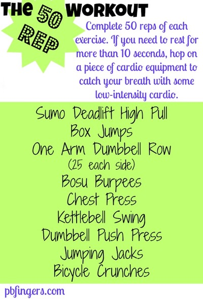 The 50 Rep Workout