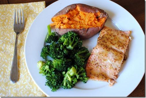 Easy Honey Dijon Cedar Plank Salmon Recipe