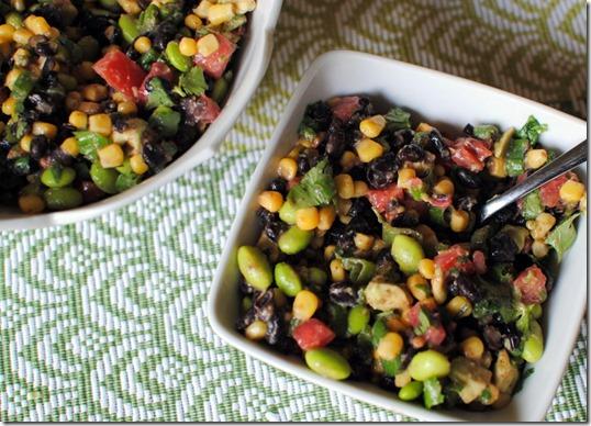Edamame and Black Bean Salad