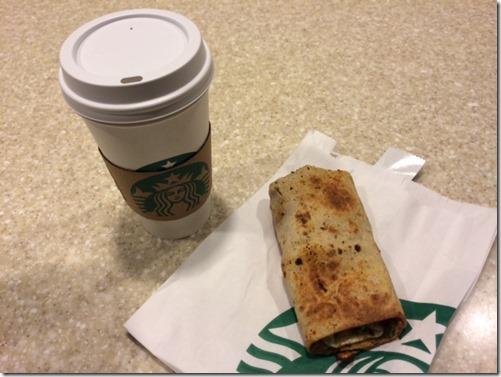Starbucks Wrap