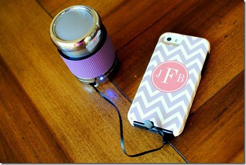 brookstone mini iphone speaker