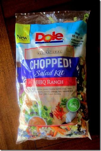 Dole Chopped Salad BBQ Ranch