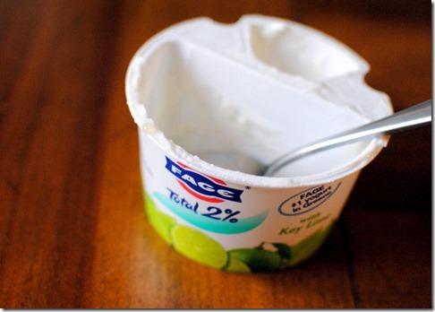 Fage Key Lime Greek Yogurt