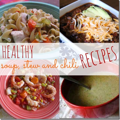 Healthy Soup, Stew and Chili Recipes