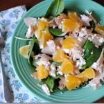 Salad with Panera Asian Sesame Dressing