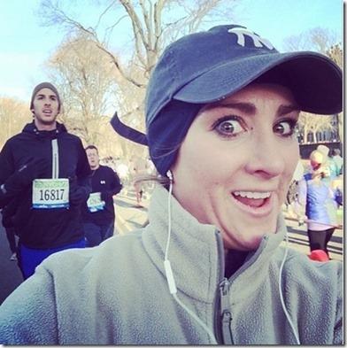 Selfie with Hotties During Marathon