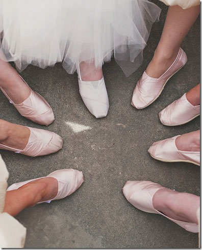 TOMS Bridesmaid Shoes
