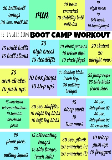 60 Minute Boot Camp Workout