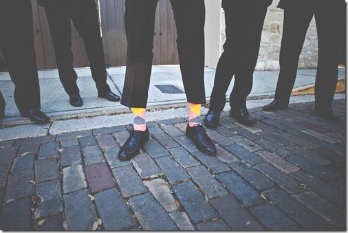 Colorful Argyle Socks for Groomsmen