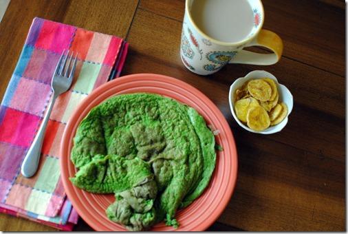Green Protein Pancake