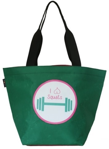 I Love Squats Gym Bag