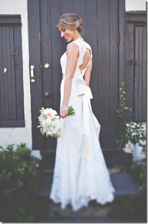 Lace Circle Back Wedding Dress (2)
