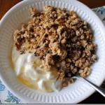Nature Valley Protein Granola with Greek Yogurt