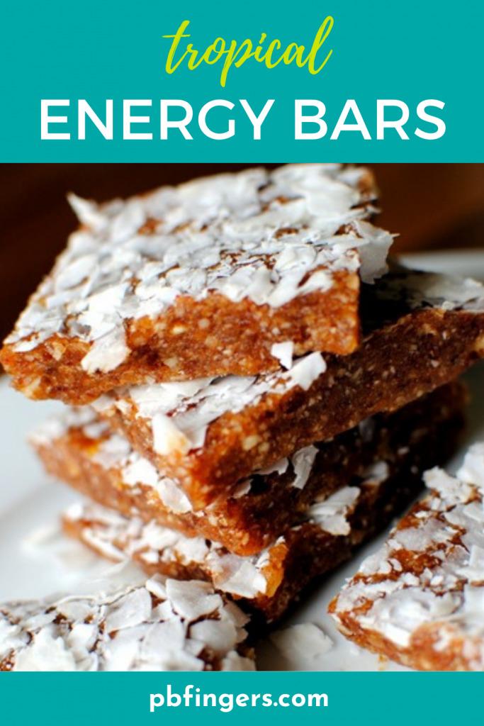 Tropical Energy Bars