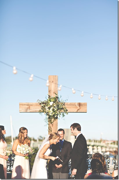 wedding ceremony laughter