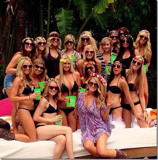 Bachelorette Party at South Beach Shore Club
