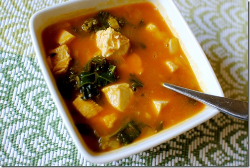 Curried Butternut Squash Soup - Easy and healthy