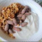 Greek Yogurt with Kashi Go Lean and Almonds