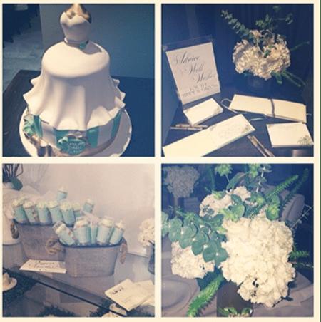 Mint Bridal Shower Details