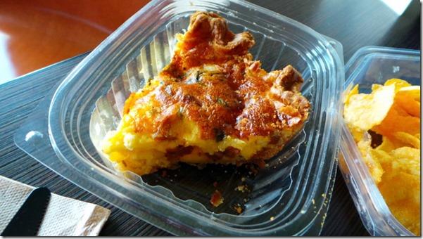 Sausage Jarlsberg Cheese Quiche