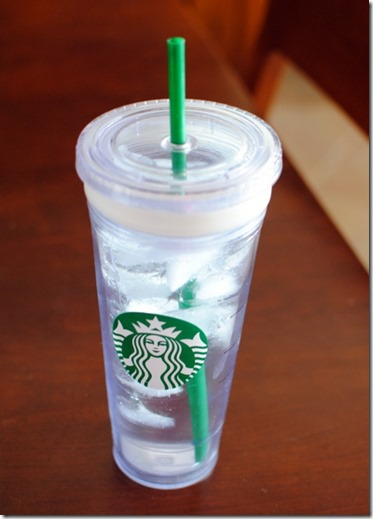 Starbucks Water Tumbler