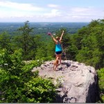 Top of Crowders Mountain