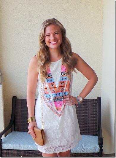 White Plum Take Me To Texas Dress