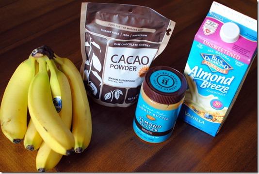 banana soft serve ingredients