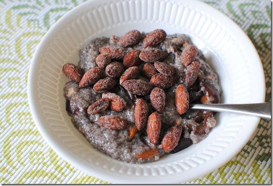cherry almond chia seed pudding