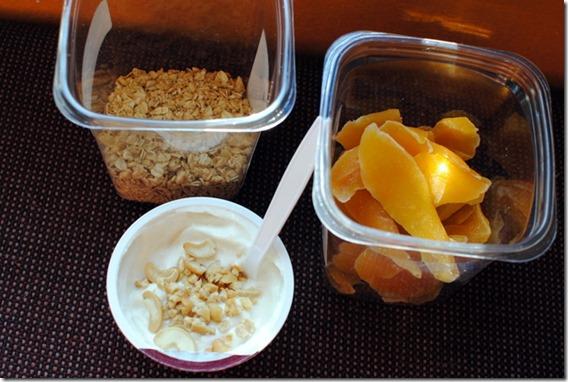 snack style breakfast