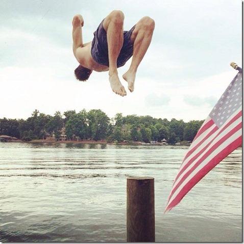 Lake Norman Backflip