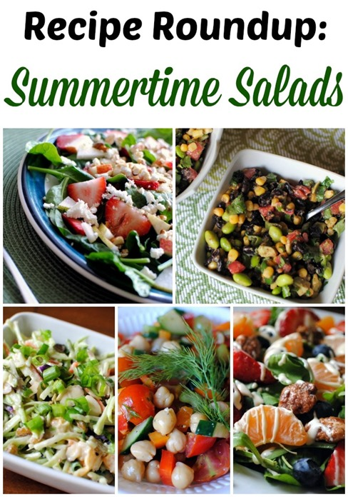 Lots of Summertime Salad Recipes