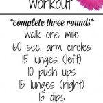 Outdoor Walking Workout